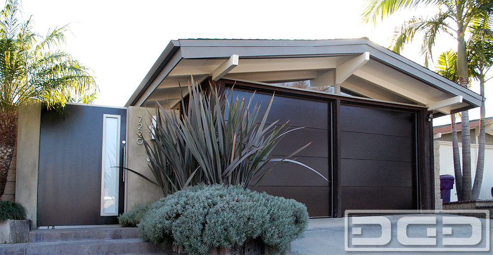 Related Project of Mid Century 01 | Custom Architectural Garage Door