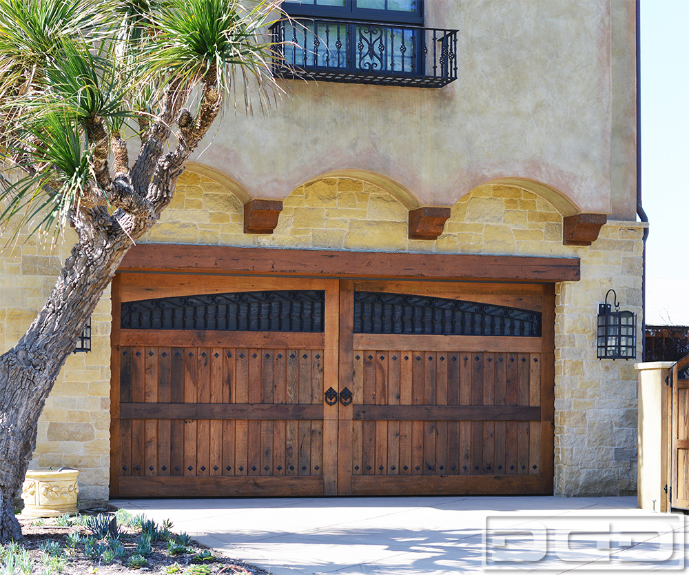Related Project of Tuscan Renaissance 14 | Custom Architectural Garage Door