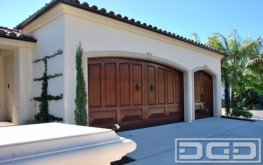 Mediterranean revival 15 custom architectural garage for Mediterranean style entry doors