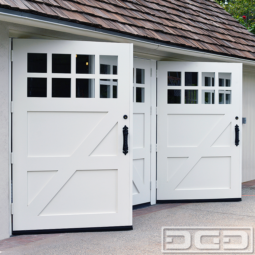 cottage garage doors
