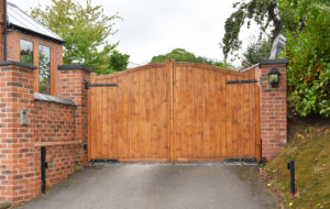 Increase Curb Appeal and Protection in One Fell Swoop with a Driveway Gate